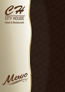 City House Menu