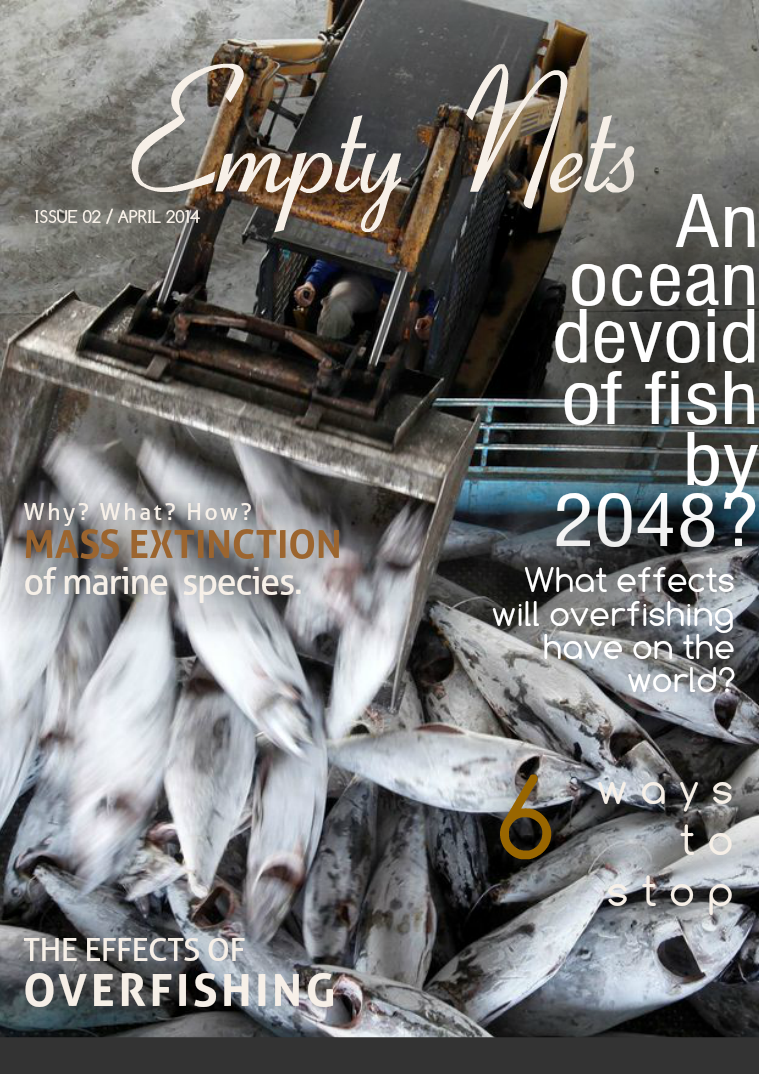 Over fishing - Empty Nets First Issue