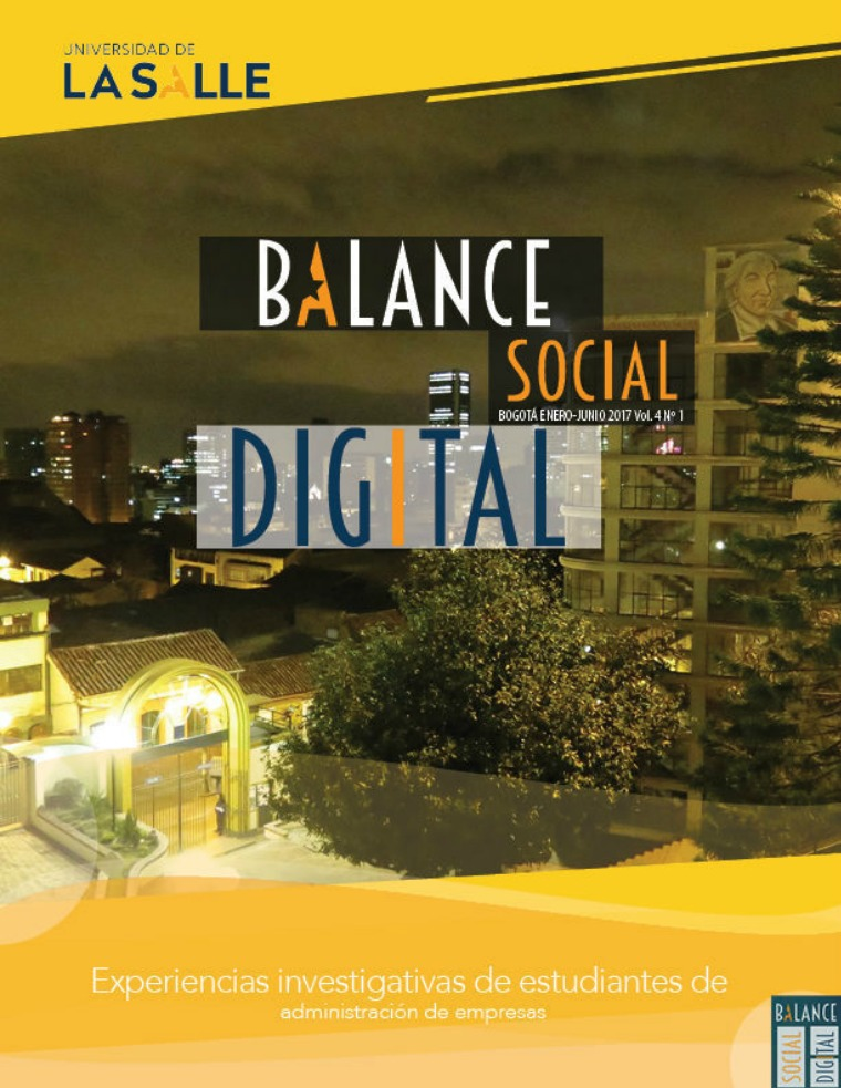 Balance Social Digital Balance Social Experiencias Investigativas