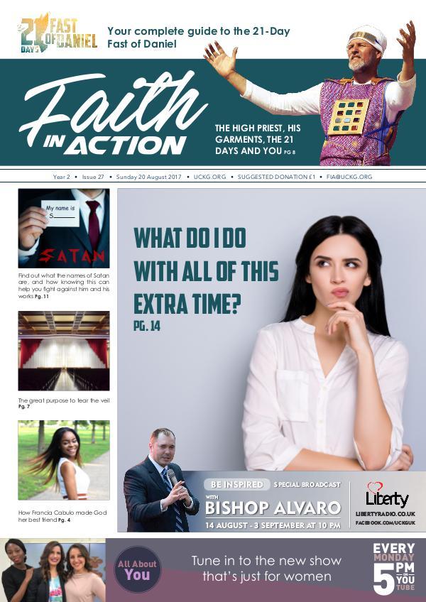Faith in Action 2017 20.08.17