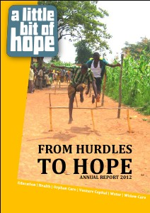 From hurdles to hope - Annual report 2012 Annual report 2012