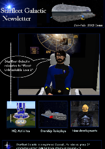 Starfleet Galactic Newsletter Jan Feb 2013