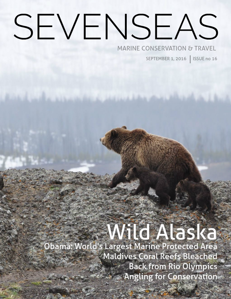 SEVENSEAS Marine Conservation & Travel Issue 16, September 2016