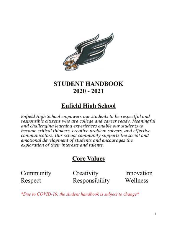 Student Handbook 2020.21