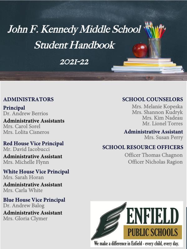 JFK Student Handbook 2021-22