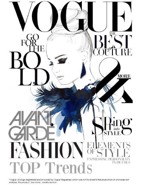 vogue magazine Jun. 2015