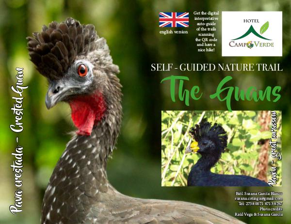 Birding Trail Las Pavas Hotel Campo Verde, Arenal, CR Self guided The Guans 1.3 ENG internet