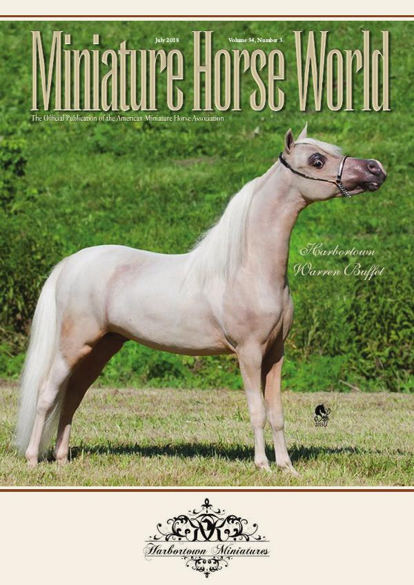 2018 Miniature Horse World Magazine JULY E-Magazine