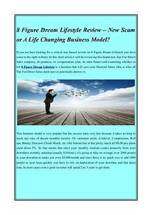 8 Figure Dream Lifestyle leaders