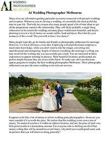 Best Melbourne Wedding Photographer