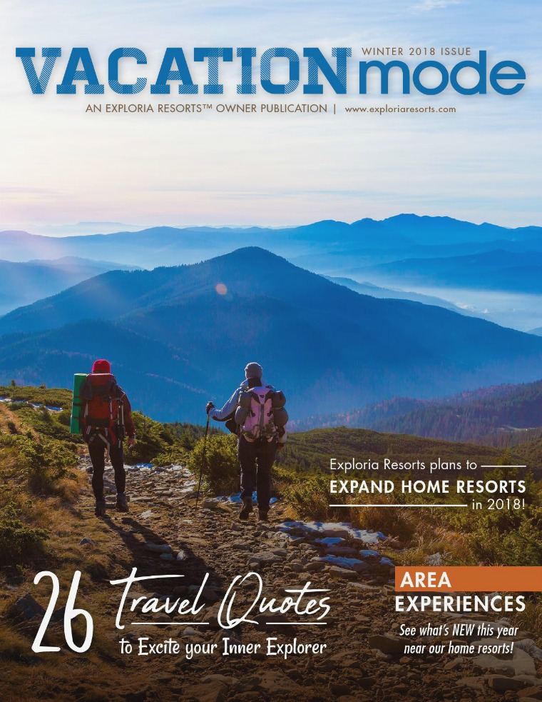 VACATIONmode WINTER 2018