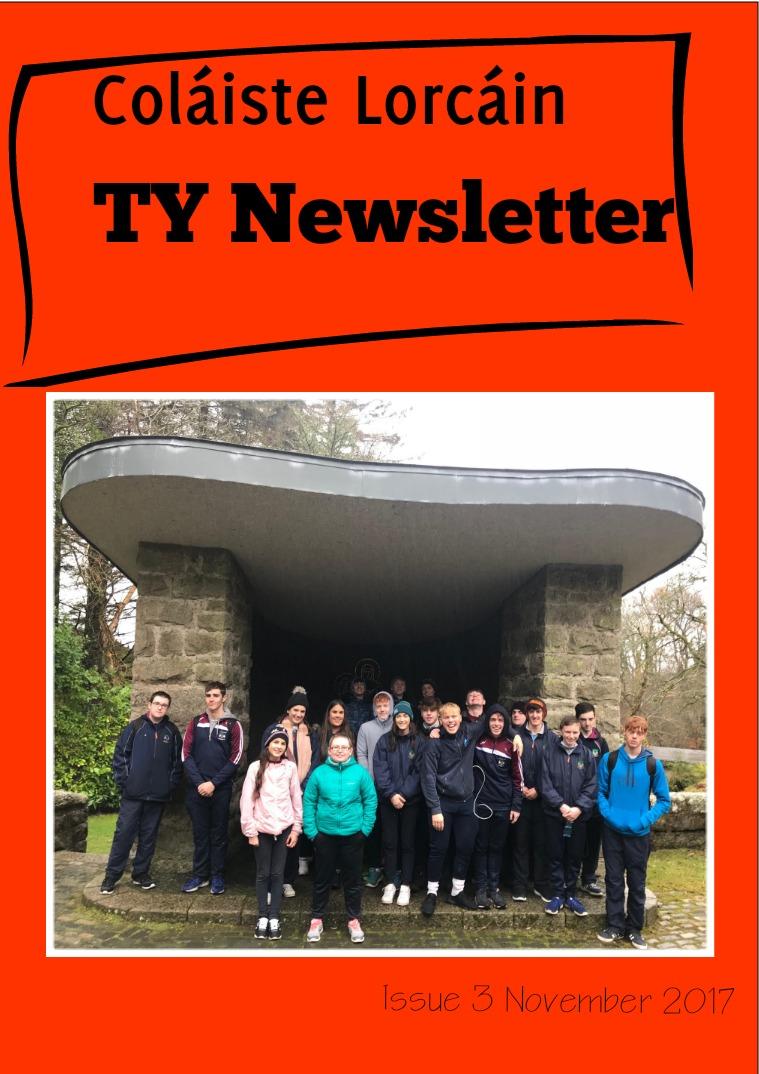 Coláiste Lorcáin Publications TY Issue 3