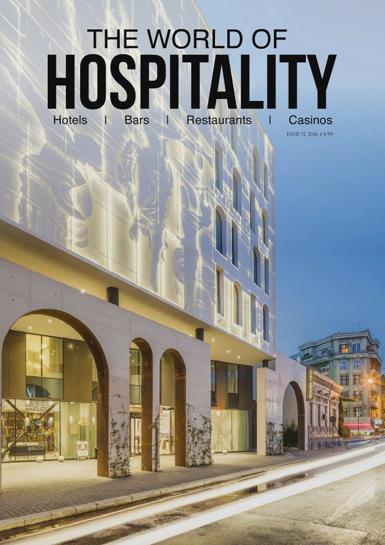 The World of Hospitality Issue 15 2016