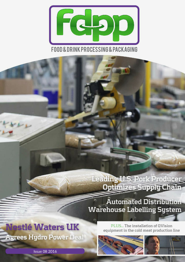Food & Drink Process & Packaging Issue 8 2016