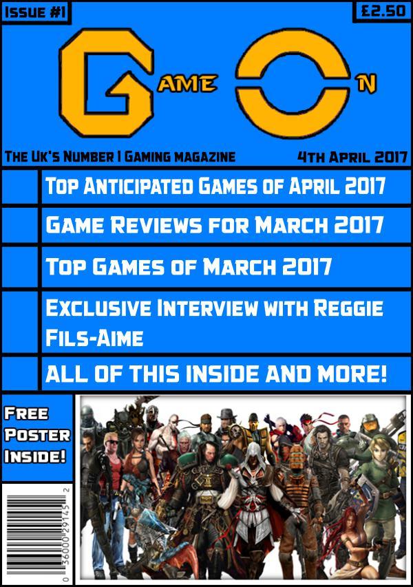 Game On! magazine Issue #1