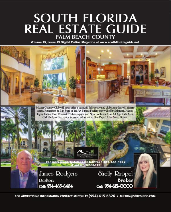South Florida Real Estate Guide issue13