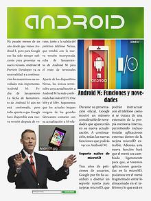 AndroidM, la tecnología al alcance