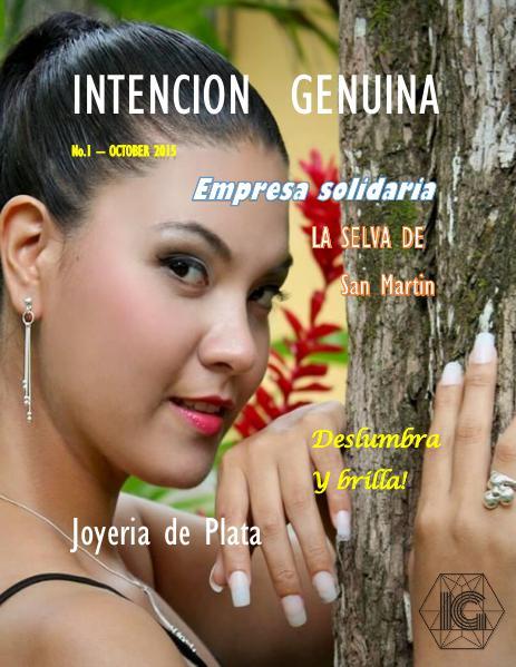 INTENCION GENUINA N|1 October 2015