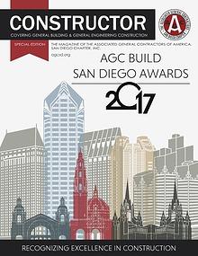 AGC San Diego Constructor Special Edition 2017 Build San Diego Awards