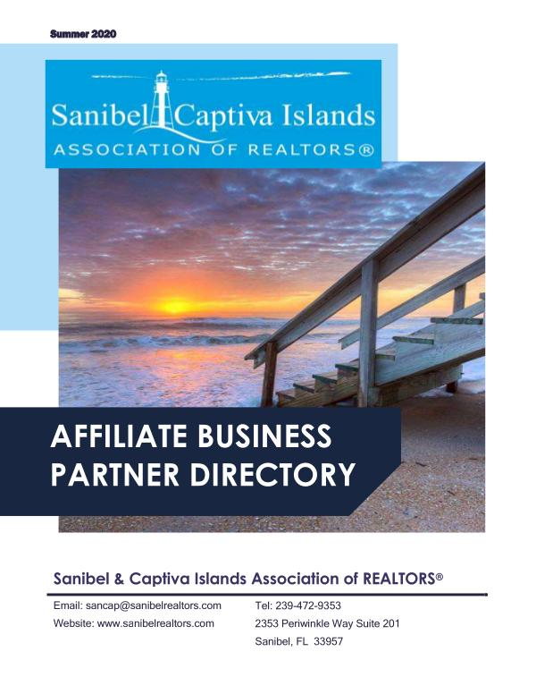 Affiliate Directory Summer 2020