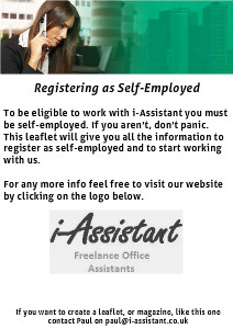 i-Assistant - Registering as Self-Employed