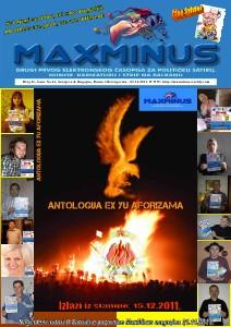 MaxMinus broj 20 MaxMinus 41