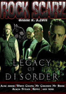 Rock Scarz Magazine Online V. 3.2011