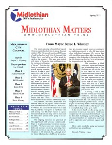 2010 Community Profile  Spring 2011 Newslettersm