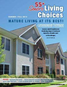 Seniors Living Choices Vol. 1 Issue1