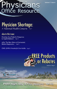 Physicians Office Resource Volume 7 Issue 06