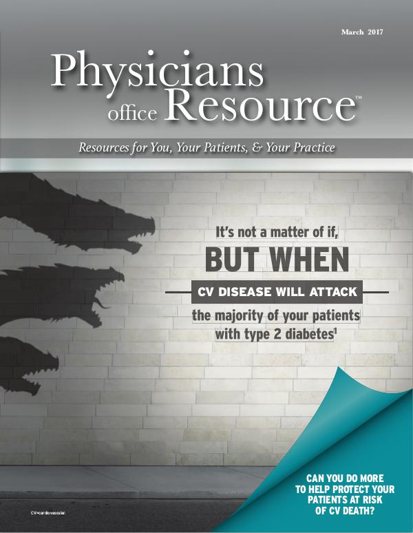 Physicians Office Resource Volume 11 Issue 03 title=