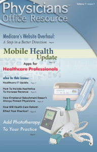 Physicians Office Resource Volume 7 Issue 07