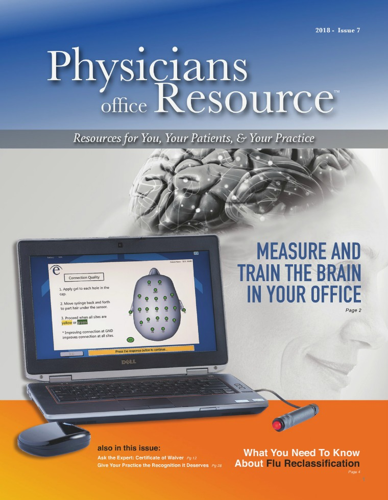 Physicians Office Resource Volume 11 Issue 7