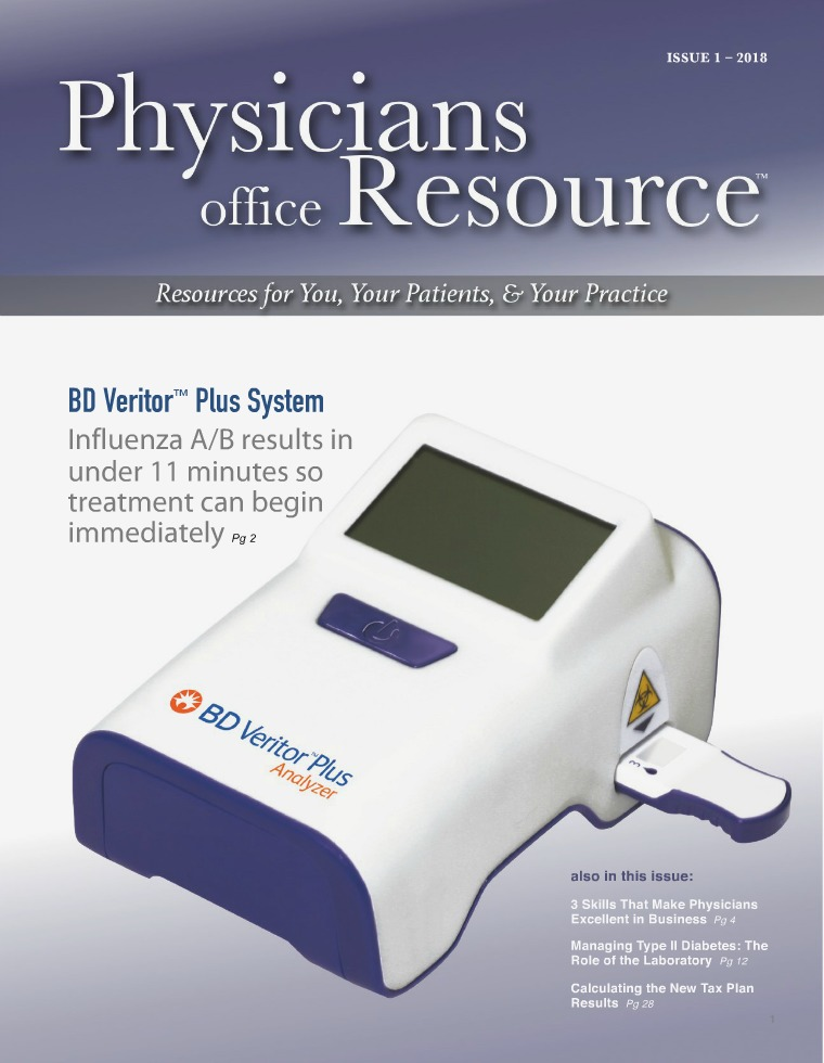 Physicians Office Resource Volume 12 Issue 1