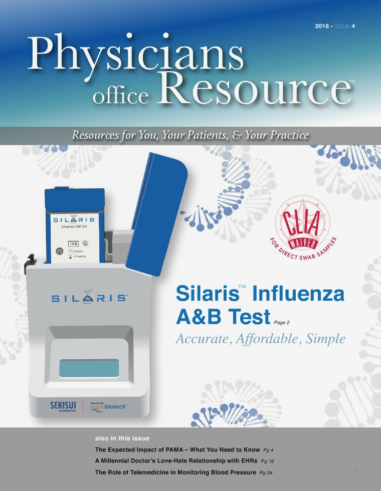Physicians Office Resource Volume 12 Issue 4