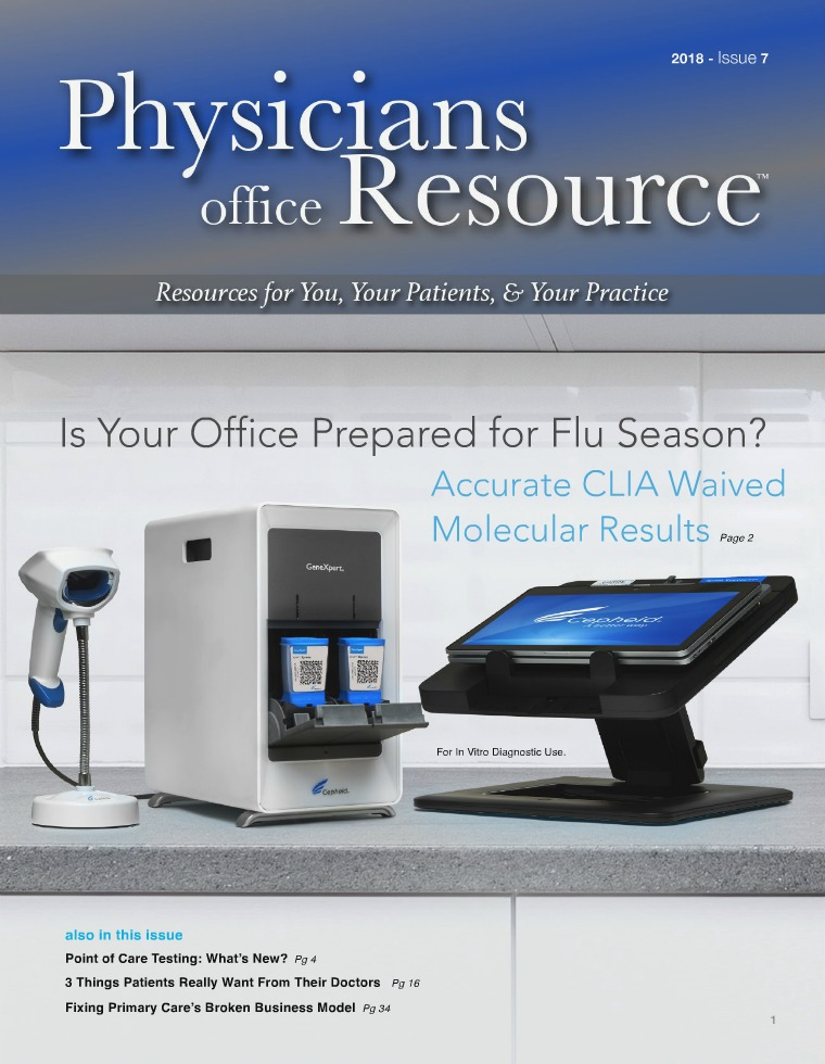 Physicians Office Resource Volume 12 Issue 7