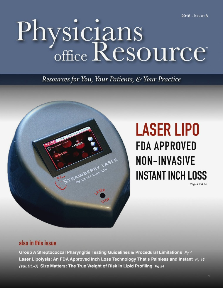 Physicians Office Resource Volume 12 Issue 8
