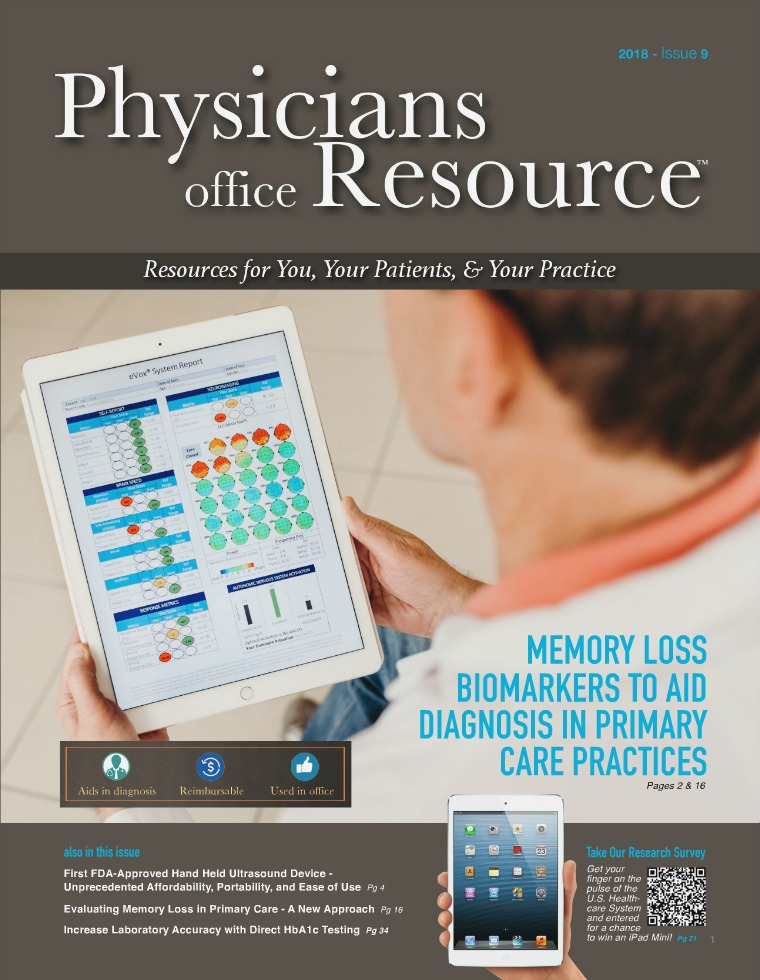 Physicians Office Resource Volume 12 Issue 9