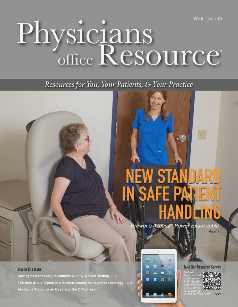 Physicians Office Resource Volume 12 Issue 10