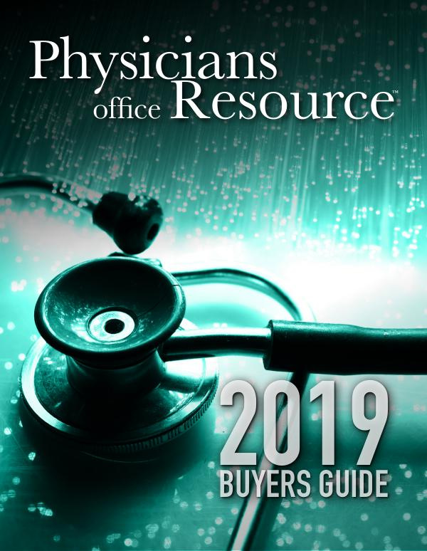 Physicians Office Resource Buyers Guide 2019