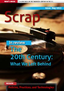 Scrap Magazine May 2013