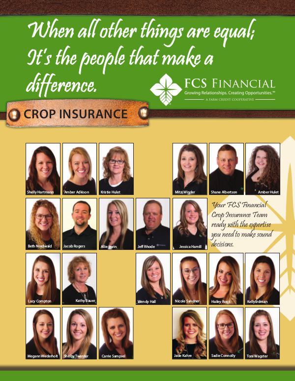 Crop Insurance Winter 2018