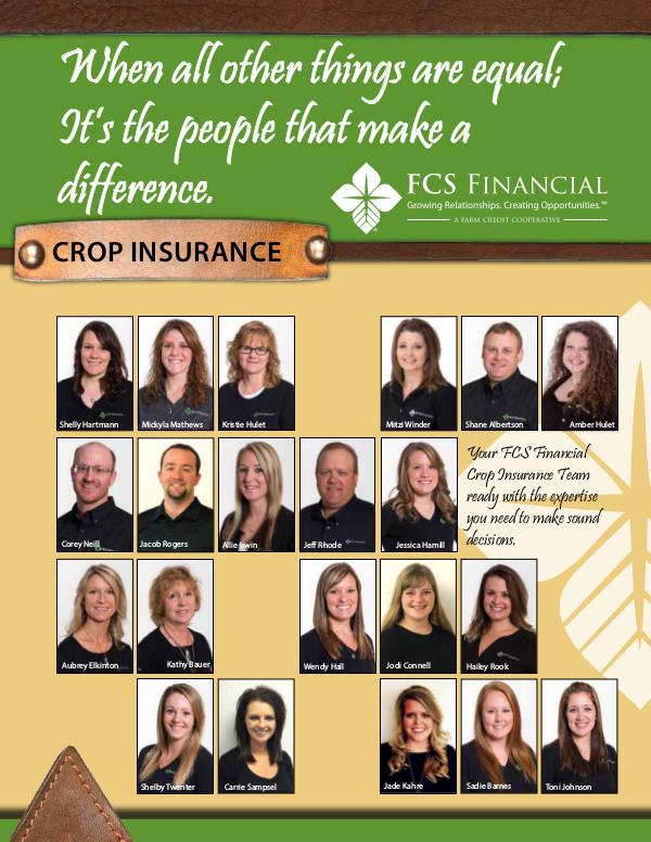 Testimonials Crop Insurance Winter 2016