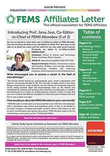 FEMS Affiliates Letter