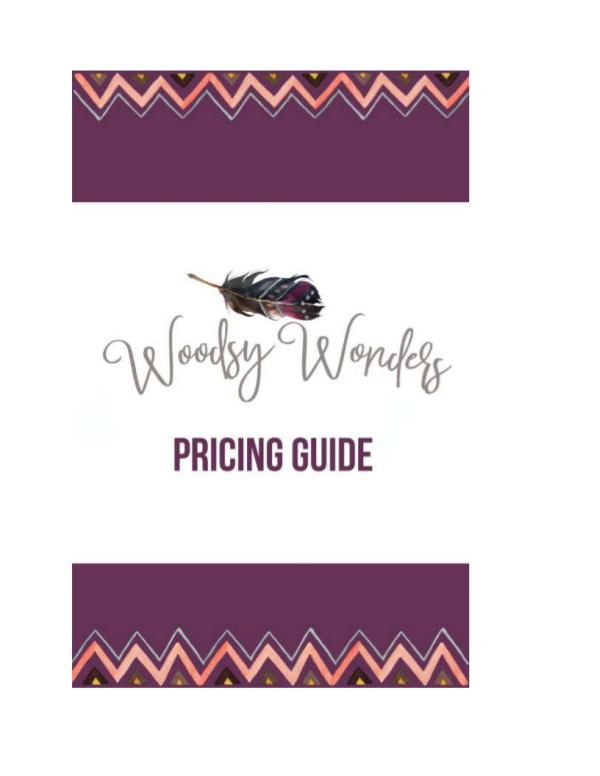 Pricing Guide 2017 Pricing Guide