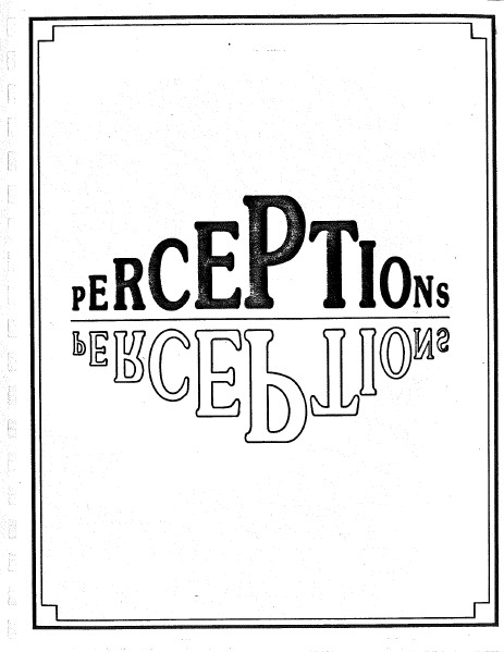 Perceptions FHS Lit Mag '84-'95
