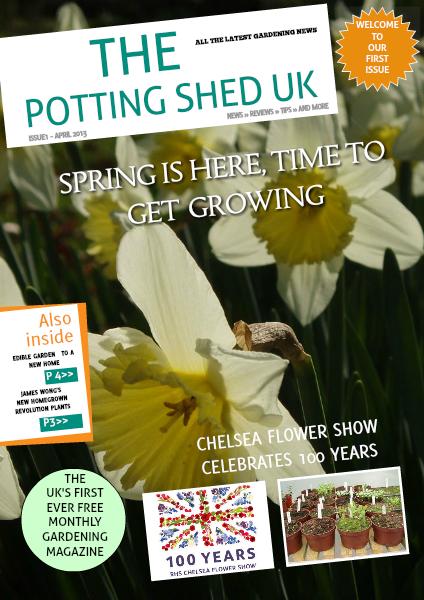 THE POTTING SHED UK April 2013