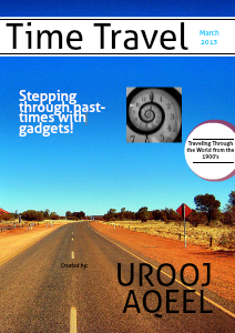 Urooj's Time Travel March 2013