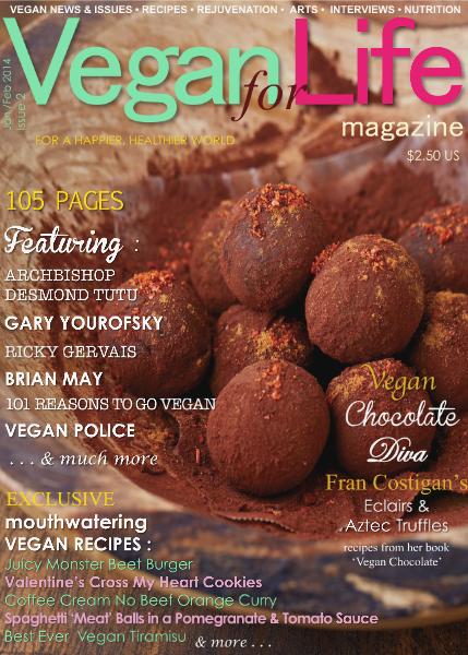 Vegan for Life Jan /Feb 2014