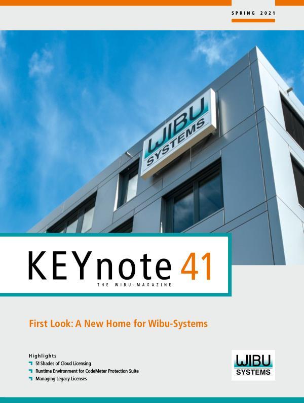 KEYnote 41 English - Spring 2021